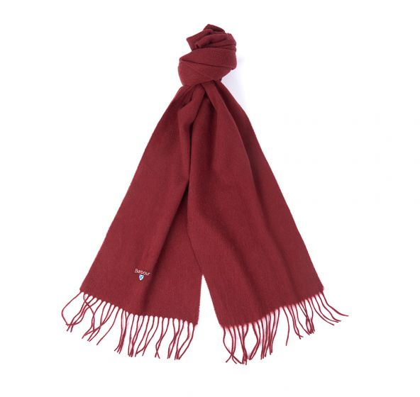 Barbour Lambswool Cinammon Scarves