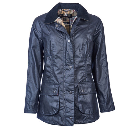 Barbour Ladies Beadnell Wax Jacket Navy